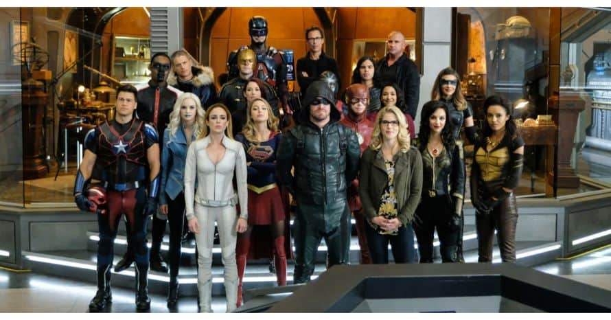 Arrowverse Arrow Stephen Amell DC Comics The CW