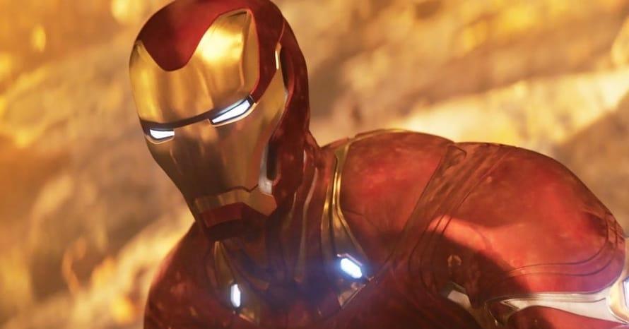 Avengers Endgame Iron Man Thanos