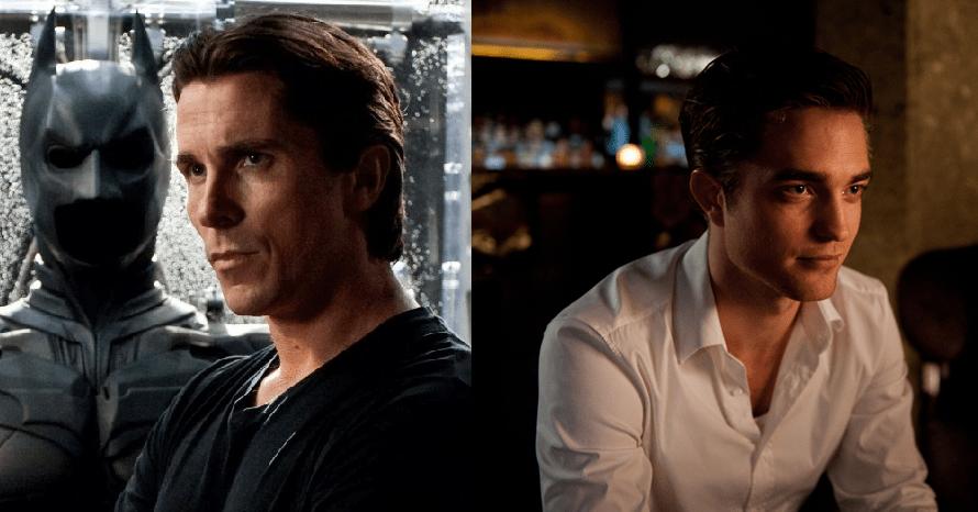 Batman Begins Christian Bale Robert Pattinson Ben Affleck