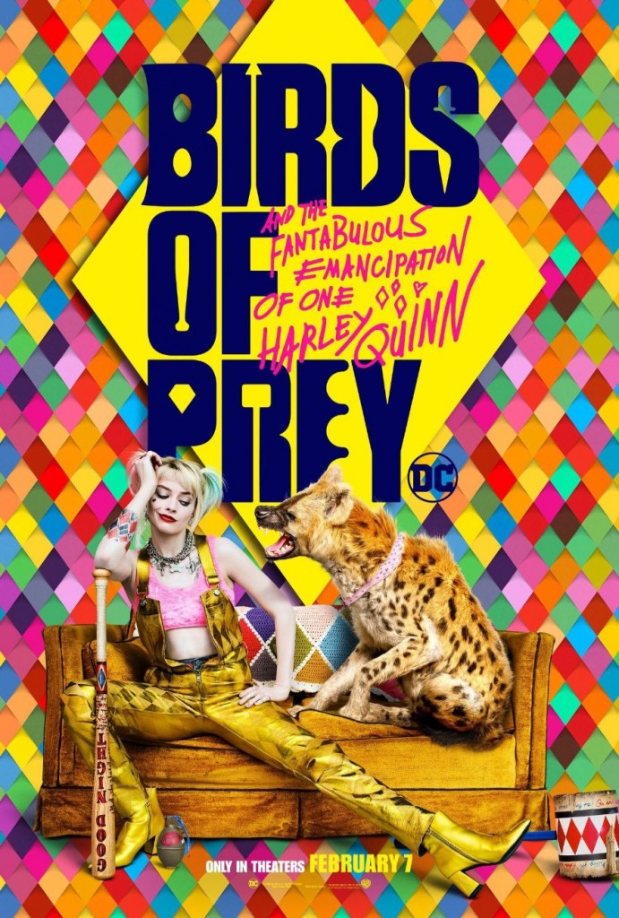 Birds of Prey Poster 3 Margot Robbie Harley Quinn