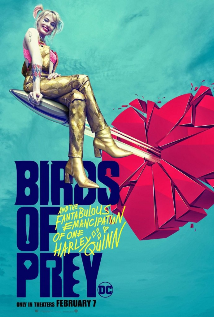 Four New Birds Of Prey Posters Spotlight Margot Robbie S Harley Quinn