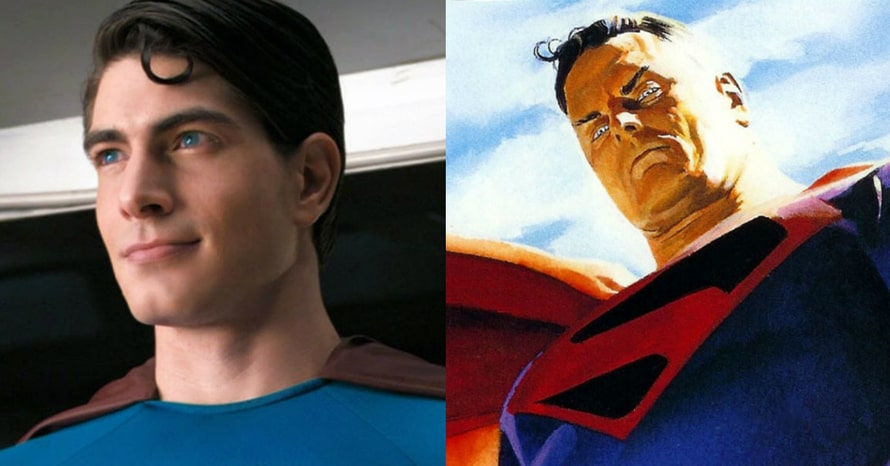 Brandon Routh Superman Kingdom Come Crisis on Infinite Earths