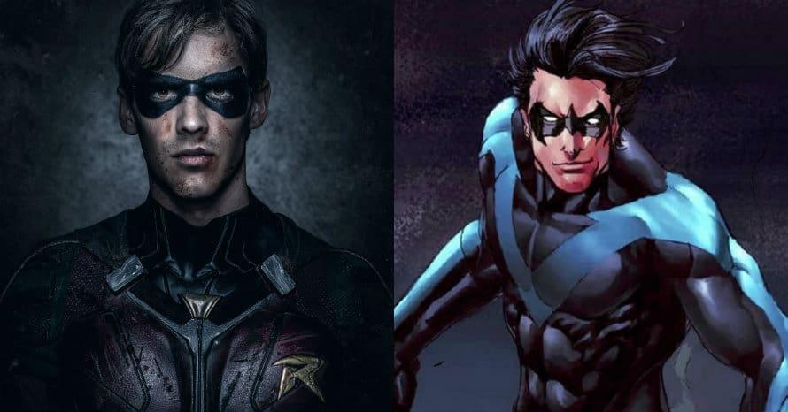 Brenton Thwaites Dick Grayson Robin Titans Nightwing Batman