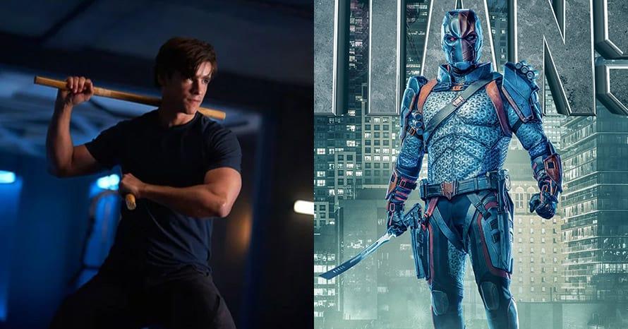 Brenton Thwaites Nightwing Deathstroke Titans