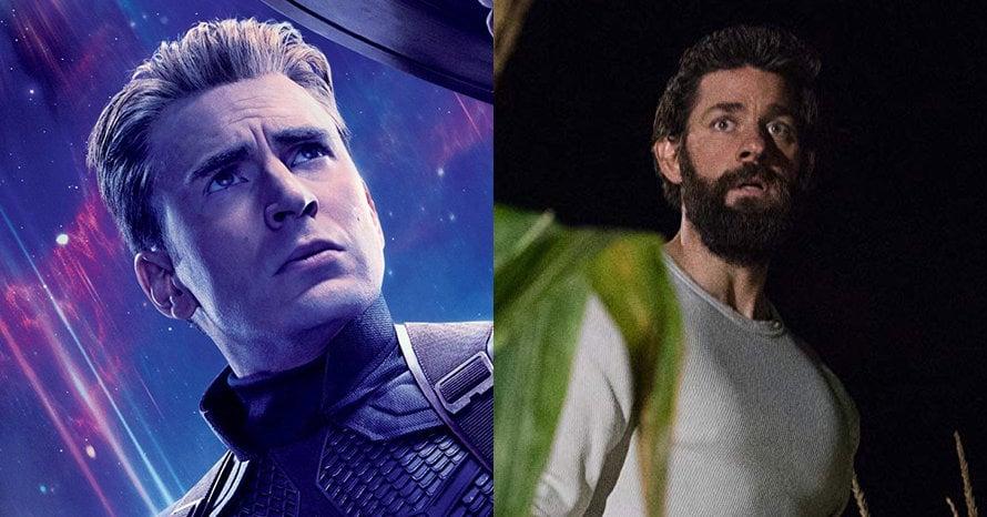 Chris Evans John Krasinski Avengers Quiet Place Chris Hemsworth Captain America