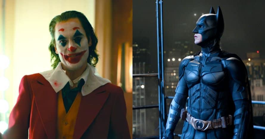Batman Christian Bale Joaquin Phoenix Joker