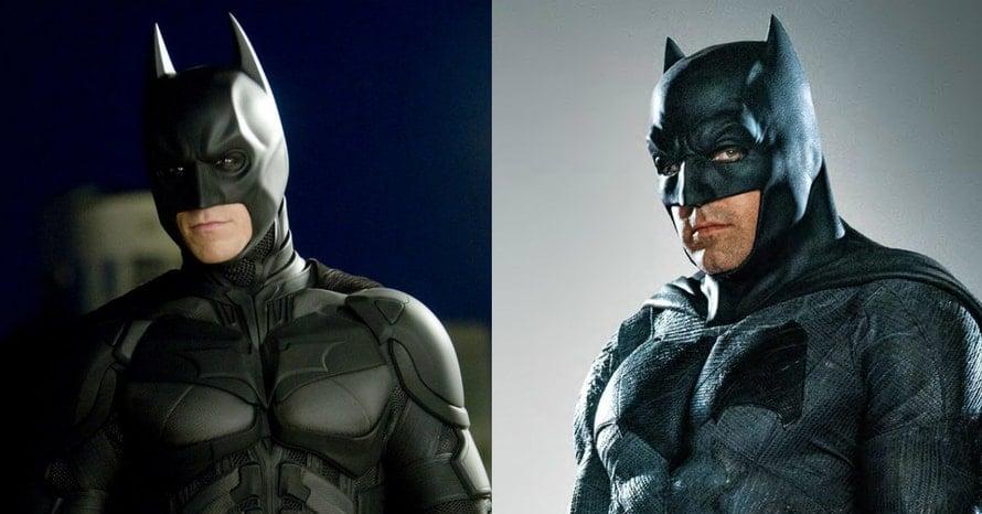 Christian Bale Ben Affleck Batman