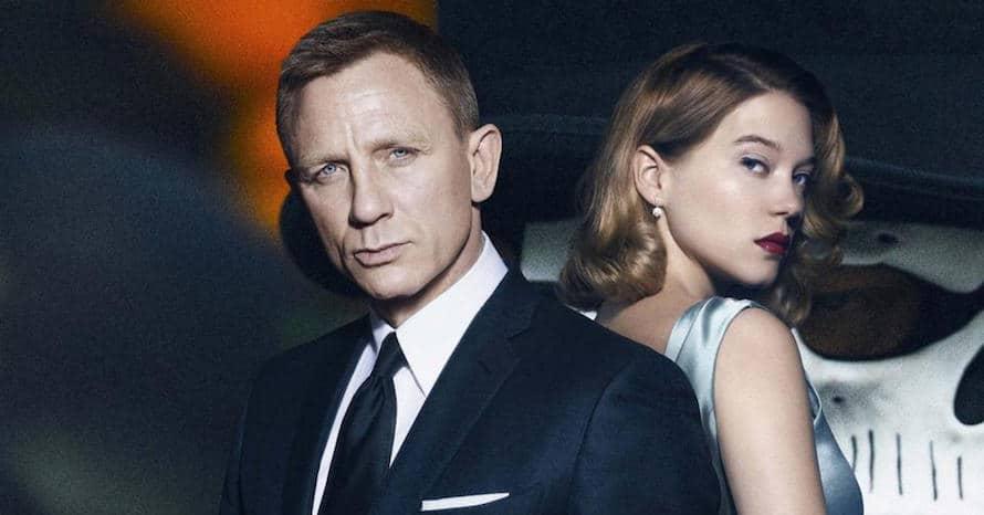 Daniel Craig Lea Seydoux Spectre No Time To Die