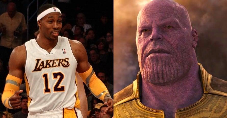 Dwight Howard Thanos Avengers