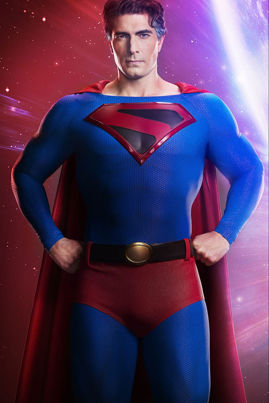 First Official Look At Brandon Routh Suited Up As Kingdom Come Superman Revealed Full