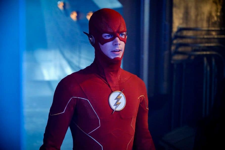 Grant Gustin The Flash Cowl