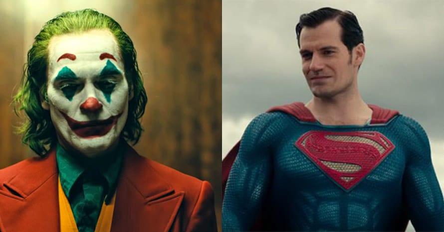 Henry Cavill Superman Joaquin Phoenix Joker