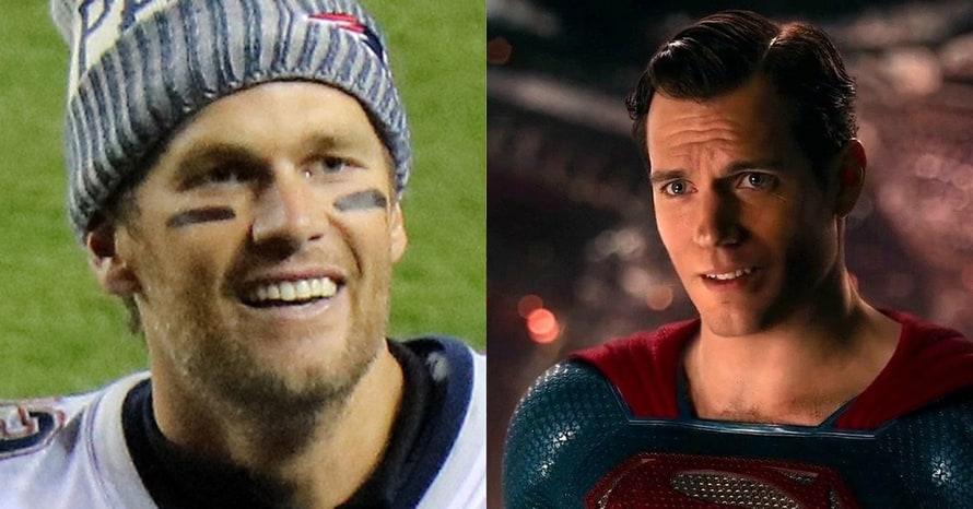 Henry Cavill Superman Tom Brady Julian Edelman