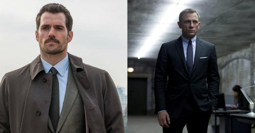 Henry Cavill Daniel Craig James Bond
