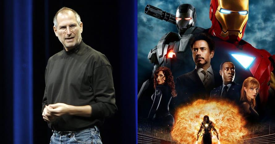 Iron Man Steve Jobs Disney Bob Iger