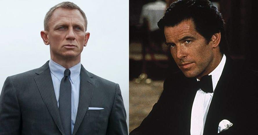 James Bond Pierce Brosnan Daniel Craig 007