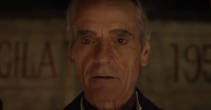 Jeremy Irons Ozymandias Watchmen