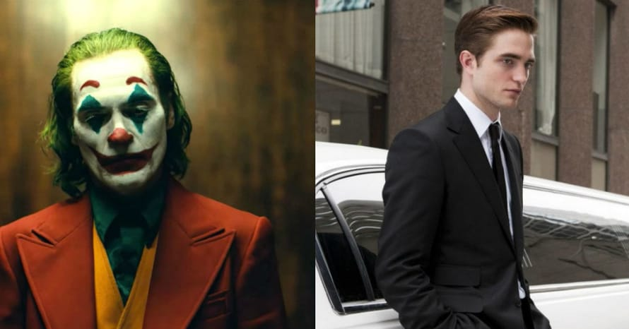 Joaquin Phoenix Robert Pattinson Batman Joker
