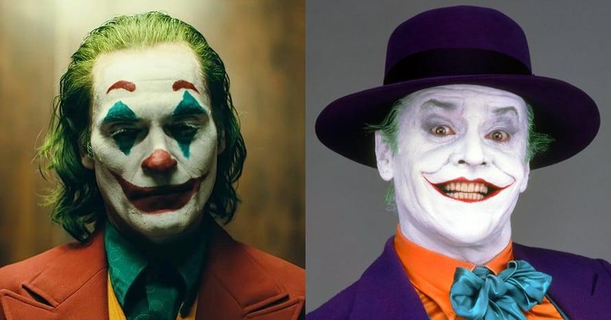 Joker Joaquin Phoenix Jack Nicholson Tim Burton Batman