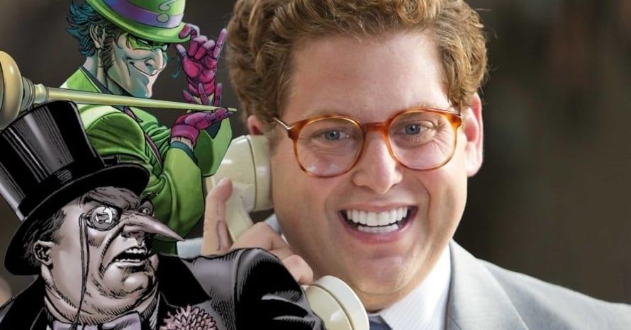 Matt Reeves Jonah Hill Penguin Riddler Batman Robert Pattinson