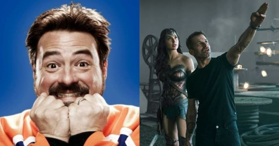 Kevin Smith Teases Ending Of Zack Snyder's 'Justice League' Cut