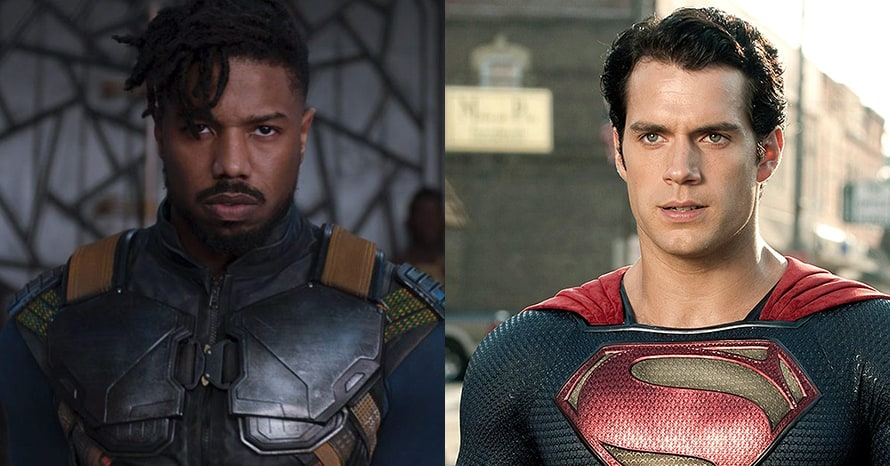 Michael B. Jordan Henry Cavill Superman