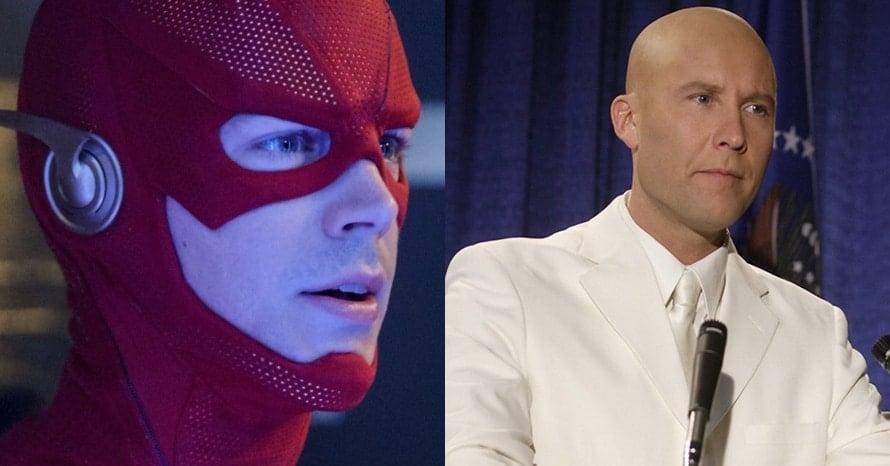 Michael Rosenbaum Wally West Grant Gustin The Flash