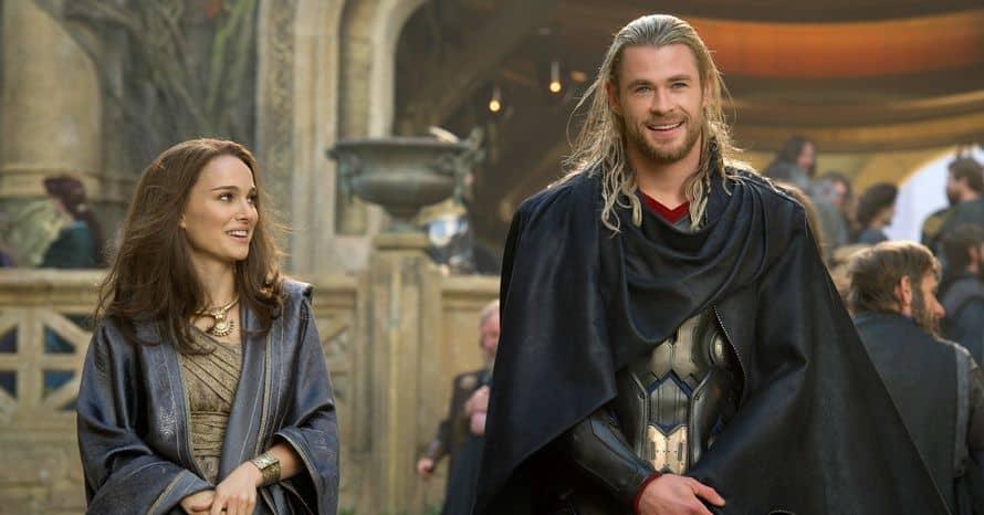 Natalie Portman Chris Hemsworth Thor Marvel Studios Martin Scorsese