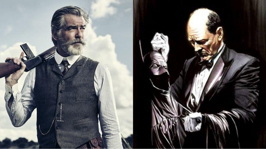 Pierce Brosnan Alfred Pennyworth Robert Pattinson The Batman