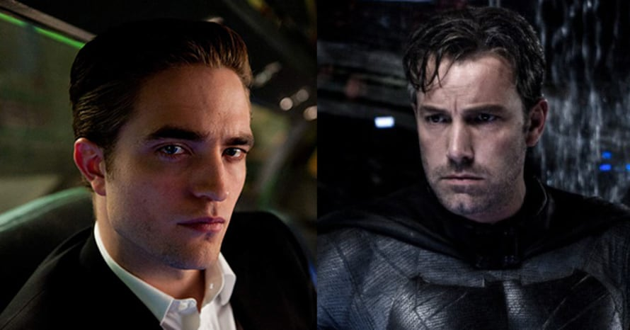Robert Pattinson Ben Affleck Batman Flashpoint