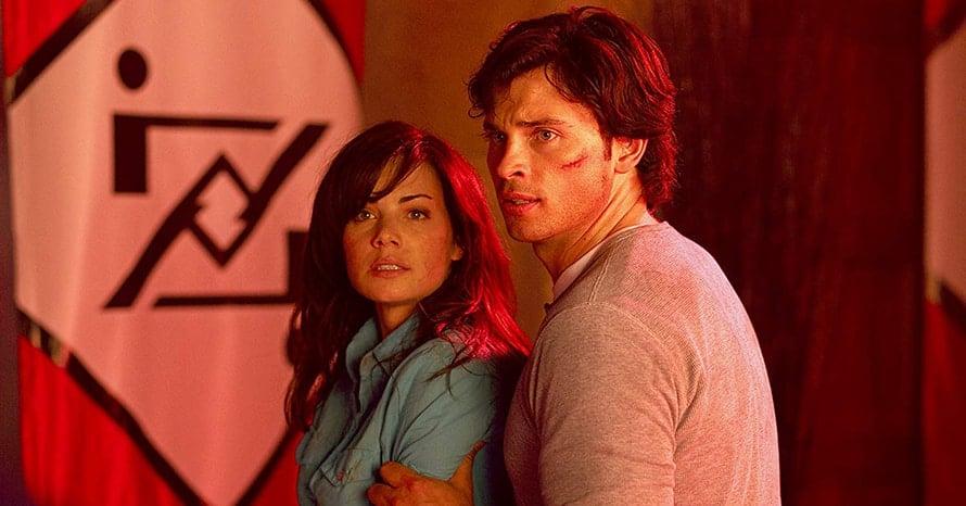 Smallville Erica Durance Lois Lane Crisis On Infinite Earths