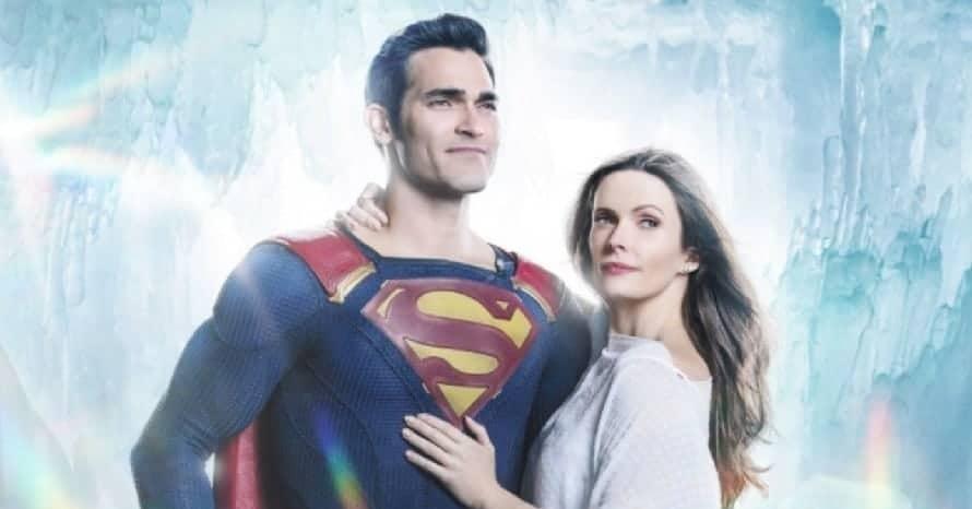 Supergirl Superman and Lois Tyler Hoechlin Arrowverse Elizabeth Tulloch the cw Crisis On Infinite Earths Lana Lang Inde Navarrette Clark Kent Lois Lane
