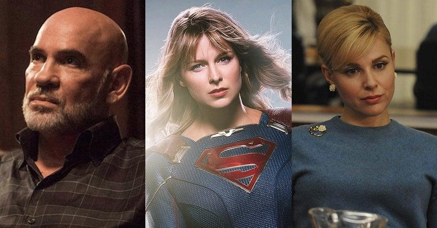 Supergirl Mitch Pileggi Cara Buono Melissa Benoist
