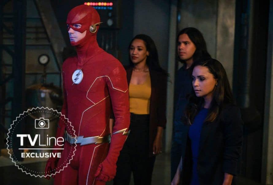 The Flash Season 6 Grant Gustin Official