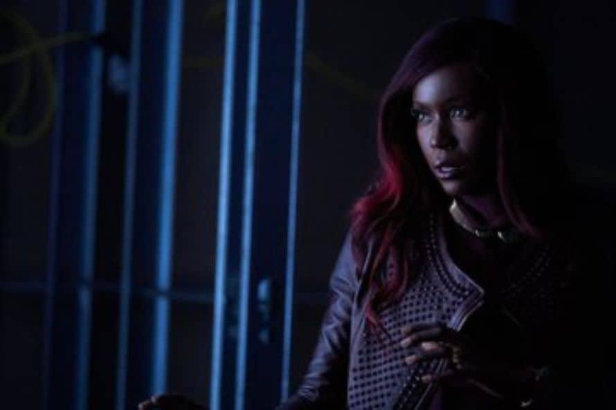 Titans Deathstroke Anna Diop