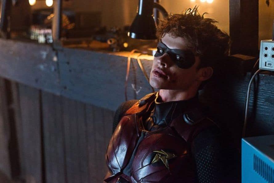 Titans Deathstroke Curran Walters