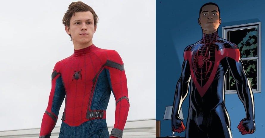Tom Holland Spider-Man Miles Morales