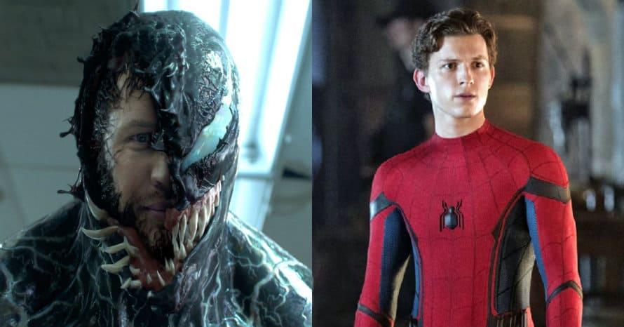 Venom Tom Hardy Spider-Man Tom Holland Sony Marvel Reuben Fleischer Andy Serkis