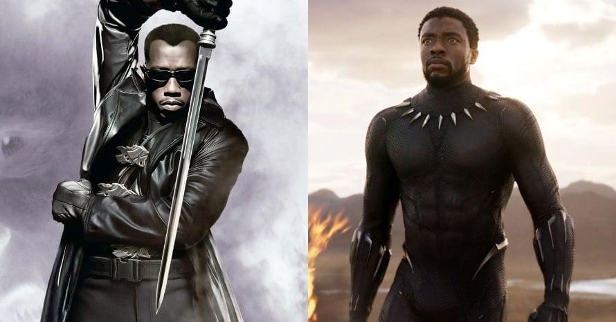 Wesley Snipes Blade Black Panther
