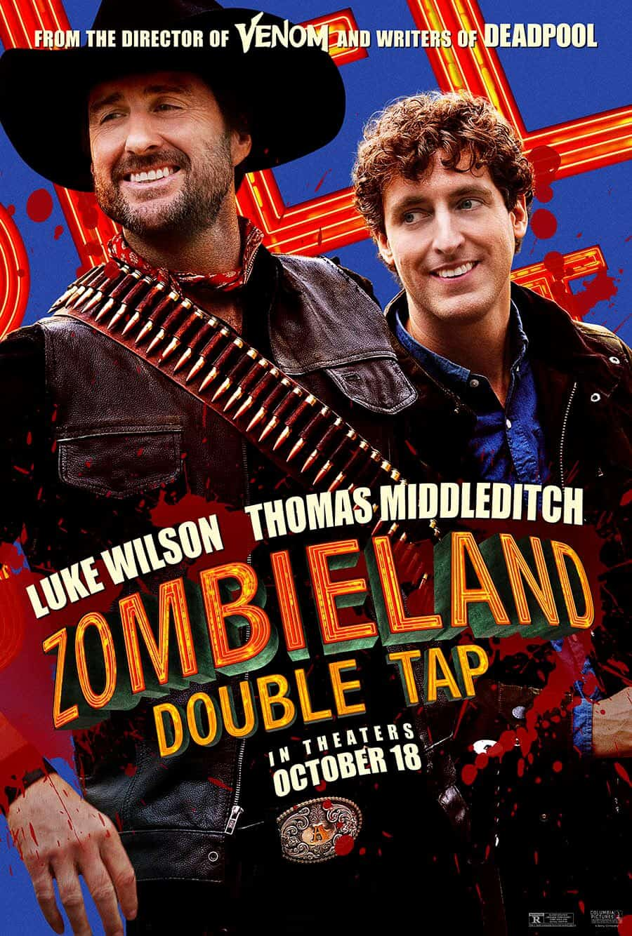 Zombieland Double Tap Luke WIlson Thomas Middleditch