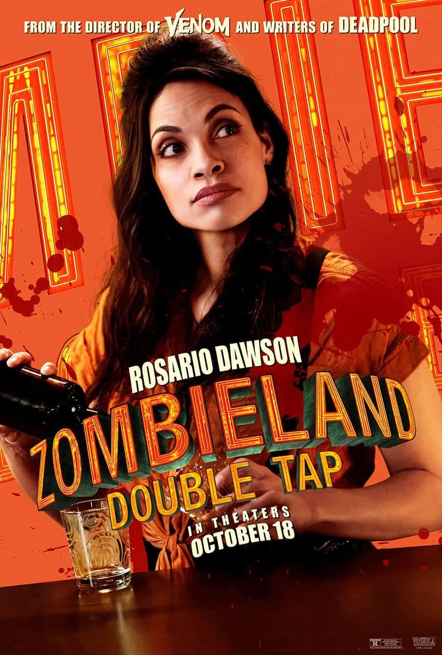 Zombieland Double Tap Rosario Dawson