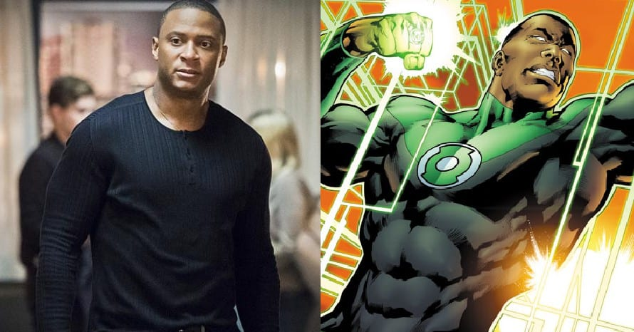 Arrow Green Lantern David Ramsey