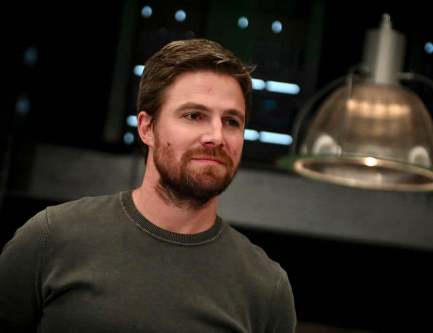 Arrow Stephen Amell Present Tense Oliver Queen