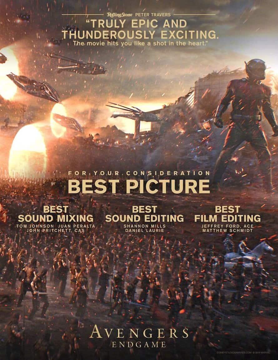 Avengers Endgame Marvel Best Picture