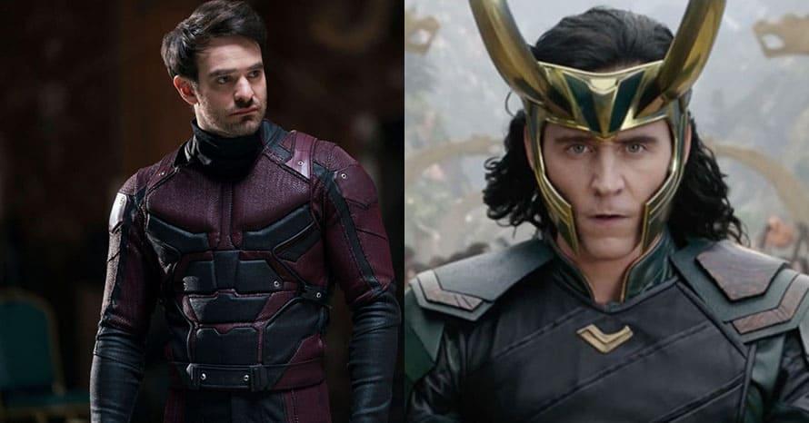 Loki Tom Hiddleston Charlie Cox Daredevil