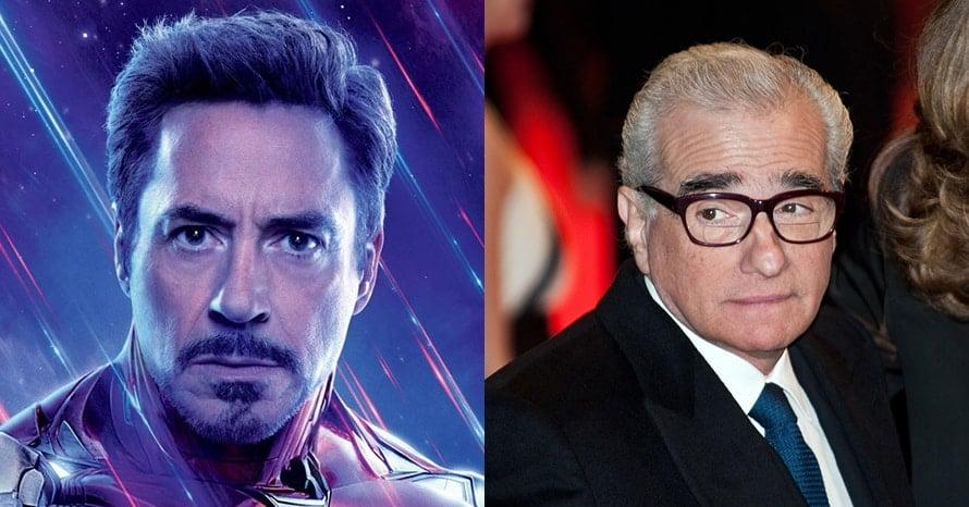 Avengers Iron Man Robert Downey Jr Martin Scorsese Marvel The Irishman