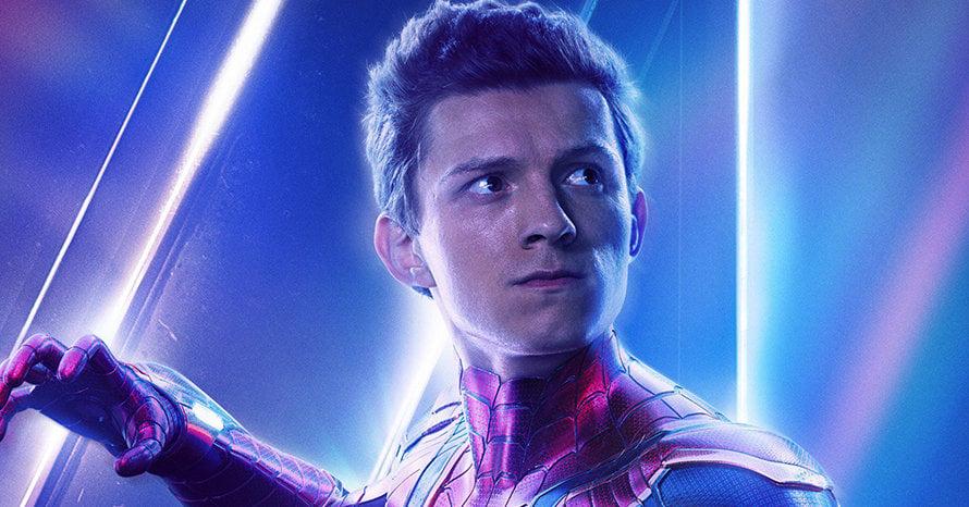 Avengers Endgame Tom Holland Spider-Man 3