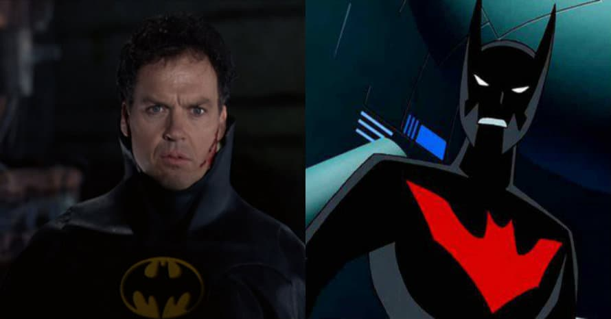 Batman Beyond Michael Keaton Bruce Wayne