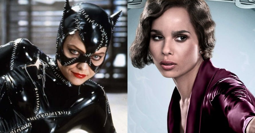 Catwoman Michelle Pfeiffer Zoe Kravitz The Batman
