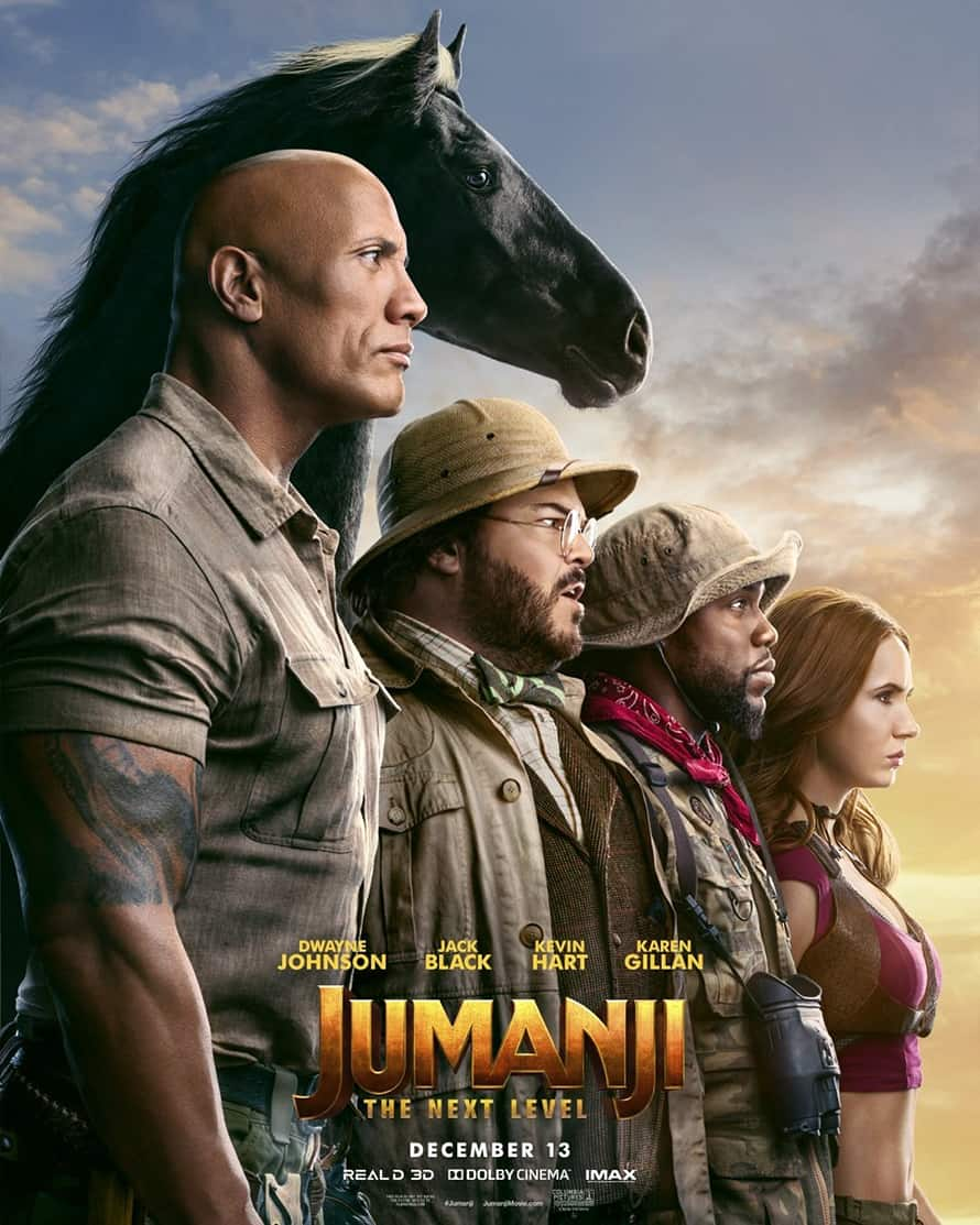 Jumanji The Next Level Dwayne Johnson
